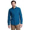Chemise à manches longues Lodging Imprimé bleu Bandana étoilé