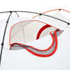 TGV 4-Person 4-Season Tent Lava/Tangerine