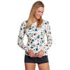 T2 Long-Sleeved Crew Hand Embroidery Print