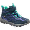 Moab FST A/C Waterproof Mid Hiking Shoes Navy
