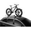 Porte-vélo Upride Argent