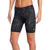 Ace Cycling Liner Shorts Grey Shapes Print