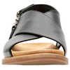 Corsio Calm Sandals Black Leather