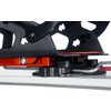 Fixations Speed Rail pour planche divisible Rouge vif