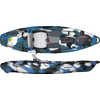 Lure 10 Kayak without Rudder Blue Camo