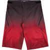 Short Highline Rouge profond Tie-Dye