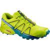 Chaussures de course sur sentier Speedcross 4 Lime acidulé/Vert lime/Lac profond