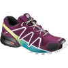 Speedcross 4 Trail Running Shoes Dark Purple/White/Deep Lake