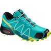 Chaussures de course sur sentier Speedcross 4 Oiseau bleu/Lime acide/Noir