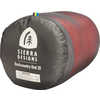 Backcountry Bed -7C Down Sleeping Bag Red/Grey