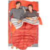Sac de couchage Backcountry Bed Duo 700F -7 °C Rouge