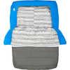 Sac de couchage double Frontcountry Bed 2 °C Bleu/Gris