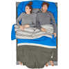 Frontcountry Bed +2C Double Sleeping Bag Blue/Grey