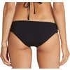 Culotte de bikini à taille basse Sol Searcher Noir cailloux