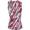 Pro Mesh Sleeveless Base Layer White/Red/Anthracite