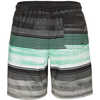 Short Vibe Breaker Volley Rayures aqua