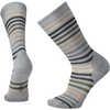 Spruce Street Crew Socks Light Gray Heather 2/Loden Heather