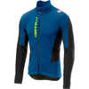 Mortirolo V Jacket Ceramic Blue/Yellow Fluo
