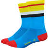 Aireator Vintage Jersey Socks Process Blue/Yellow