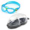 Lunettes de natation Seal Kid 2 Bleu-vert/Transparent