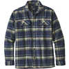 Fjord Flannel Shirt Activist:Navy Blue