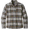 Fjord Lightweight Flannel Shirt Bad Ombre: Black