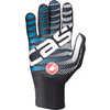 Diluvio C Gloves Black/Sky Blue