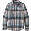 Fjord Flannel Long Sleeve Shirt Spectra Cadet Blue