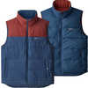 Reversible Bivy Down Vest Stone Blue