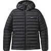 Manteau à capuchon Down Sweater Noir