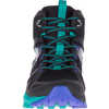 MQM Flex Mid Waterproof Light Trail Shoes Hyper Black