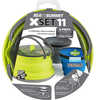 XSet 11 Cookset Lime/Blue/Grey