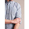 Chemise à imprimé Bison Bleu marine urbain