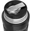 Stainless Steel Food Jar 470ml Black