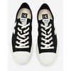 Wata Vegan Organic Cotton Canvas Sneakers Canvas Black White