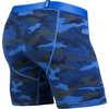Caleçon boxeur Bleu camouflage chiné