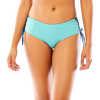 Culotte de bikini réversible Mustique Julep/Indigo