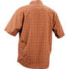 Shop Short Sleeve Shirt Orange Plaid