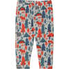 Bambini Bottoms Lava Wintercamp Print
