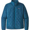 Nano Puff Jacket Big Sur Blue w/Balkan Blue