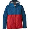 Torrentshell Jacket Big Sur Blue w/Fire Red