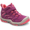Chameleon 7 Access Mid A/C Waterproof Shoes Berry/Coral
