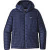 Down Sweater Hoody Classic Navy