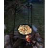 Group Camping Frying Pan Black
