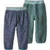 Reversible Tribbles Pants Cross Stitch/Classic Navy