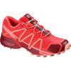 Chaussures de course sur sentier Speedcross 4 Hibiscus/Dalhia rouge/Pêche ambré
