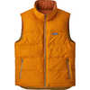 Reversible Bivy Down Vest Kastanos Brown