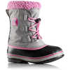 Yoot Pac Nylon Winter Boots Chrome Grey/Orchid