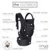 Outback Child Carrier Black