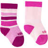 Colour Fan Baby Twin Pack Socks Candy